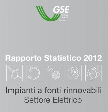 rapporto statistico 2012 gse 1